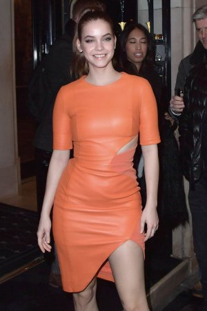 Barbara Palvin attends Paris Fashion Week Womenswear