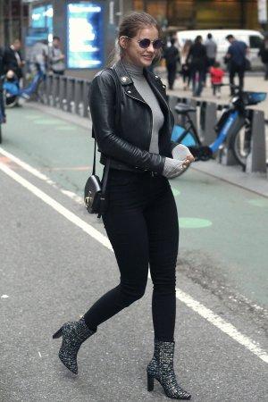Barbara Palvin attends the Victoria's Secret Fashion Show