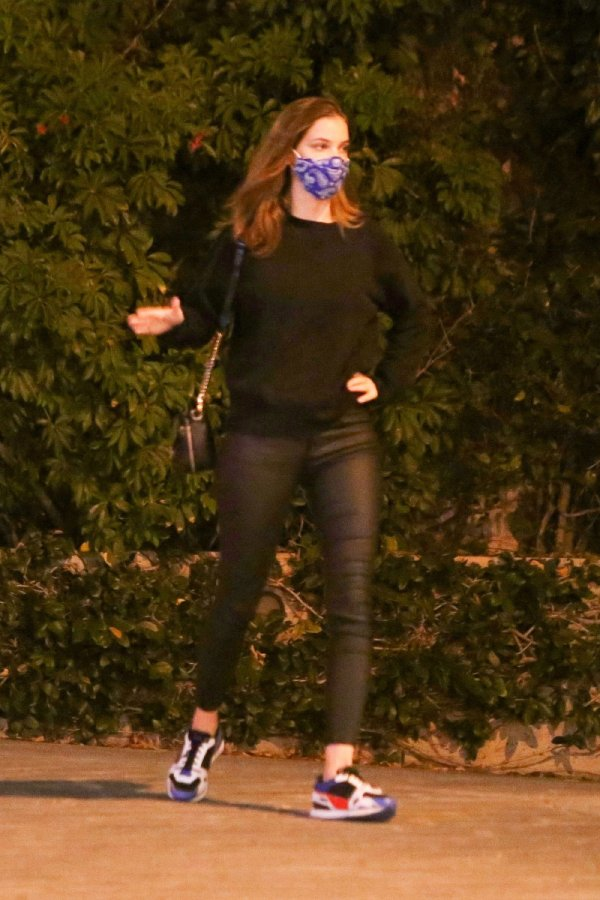 Barbara Palvin seen out celebrating his birthday