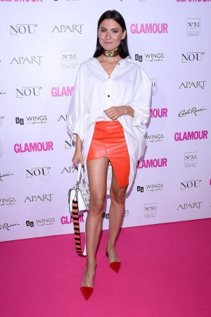 Barbara Pasek attends Glamor Woman of the Year