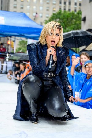Bebe Rexha attends Citi Concert Series on NBC's Today Show