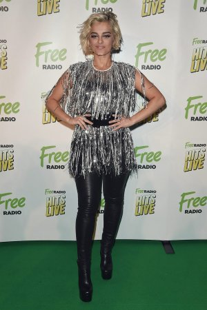 Bebe Rexha attends Free Radio Live Hits Live concert