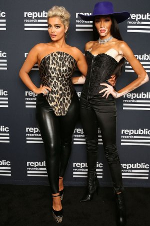 Bebe Rexha attends Republic Records VMA After Party