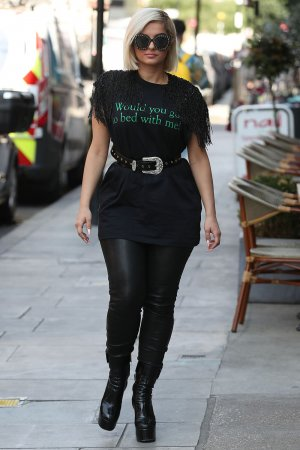 Bebe Rexha stepped out in London