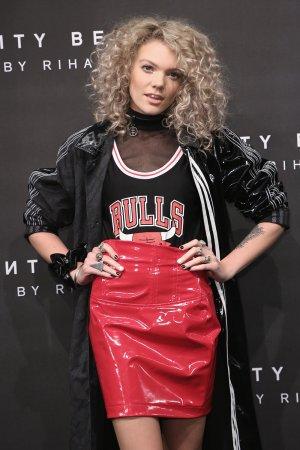 Becca Dudley attends Fenty Beauty by Rihanna Launch