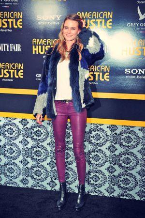 Behati Prinsloo attends the American Hustle screening