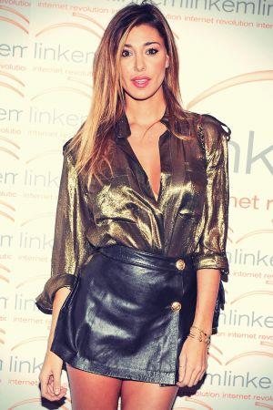 Belen Rodriguez at the Linkem Gala