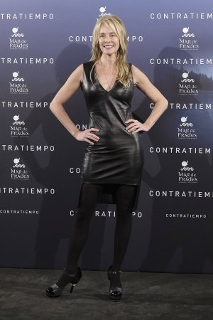 Belen Rueda attends the Contratiempo premiere party photocall