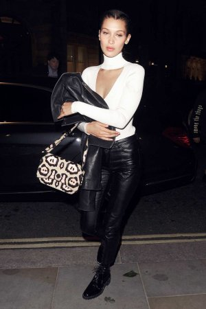 Bella Hadid at Cirque le Soir club