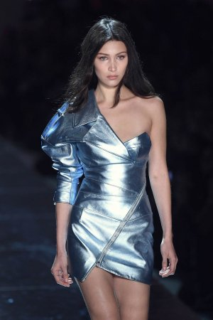 Bella Hadid attends Alexandre Vauthier Haute Couture Spring/Summer 2017 Fashion Show