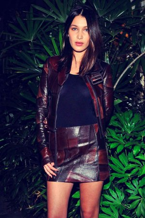 Bella Hadid attends Opening Ceremony and Calvin Klein Jeans' celebration launch