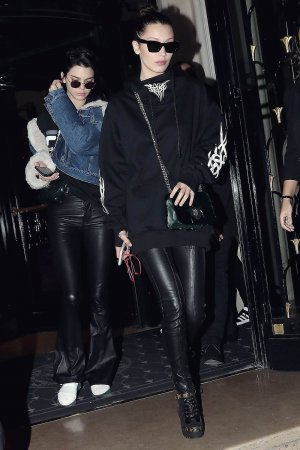 Bella Hadid & Kendall Jenner out in Paris