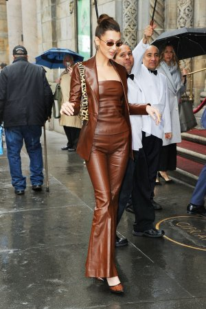 Bella Hadid outside 2019 Variety's Power of Women