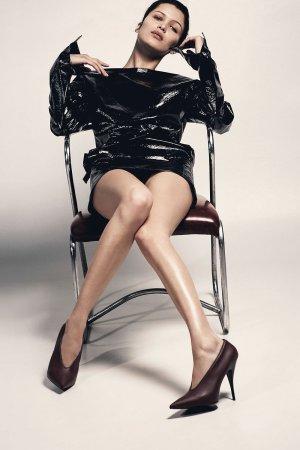 Bella Hadid photoshoot by Collier Schorr
