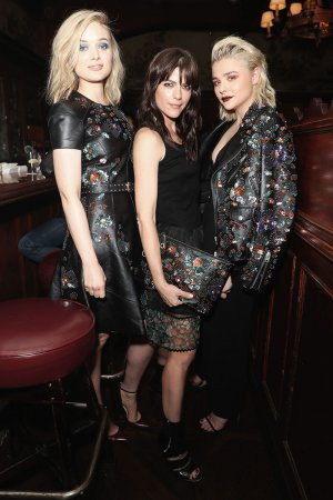 Bella Heathcote, Selma Blair & Chloe Moretz attends Coach & Rodarte Dinner