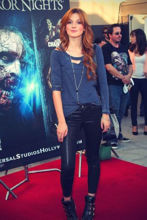 Bella Thorne at Halloween Horror Nights Eyegore Awards Kick-Off Party