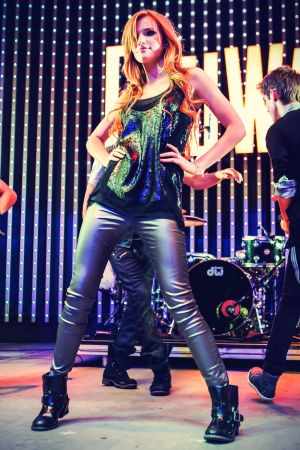 Bella Thorne at Universal CityWalk Music Spotlight Series