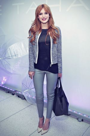 Bella Thorne attends Elie Tahari presentation