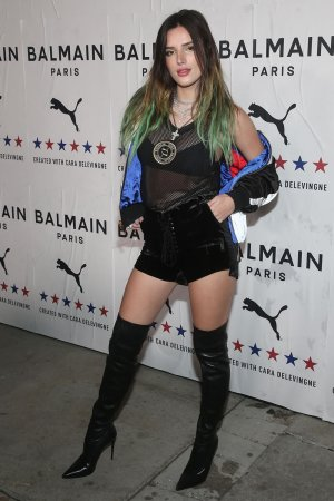 Bella Thorne attends PUMA x Balmain Launch Event