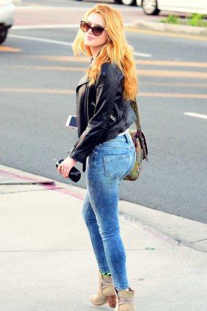 Bella Thorne out in LA