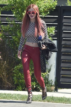 Bella Thorne out with friends in LA