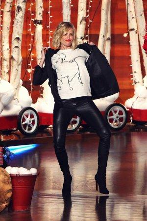 Beth Behrs at the Ellen DeGeneres Show