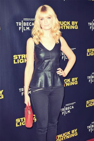 Beth Behrs attends Struck By Lightning premiere