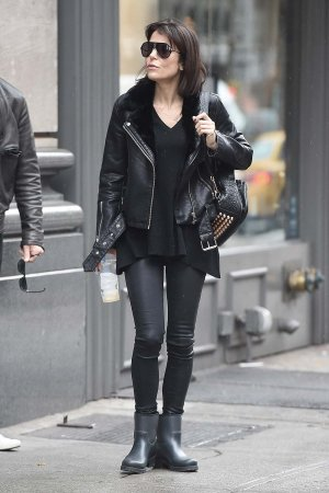 Bethenny Frankel seen in New York City