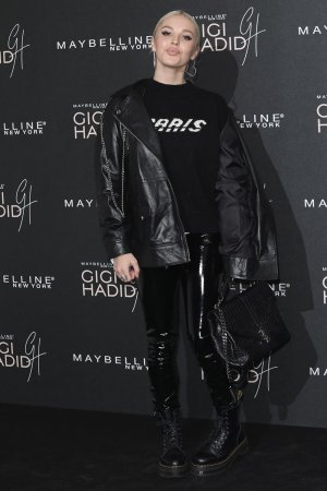 Betsy-Blue English attends Gigi x Maybelline VIP party