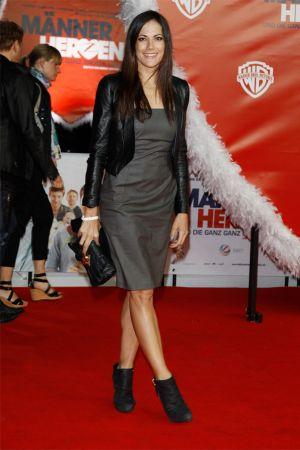 Bettina Zimmermann at movie premiere