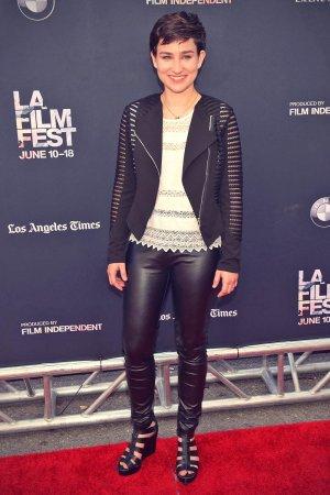 Bex Taylor-Klaus attends Scream premiere
