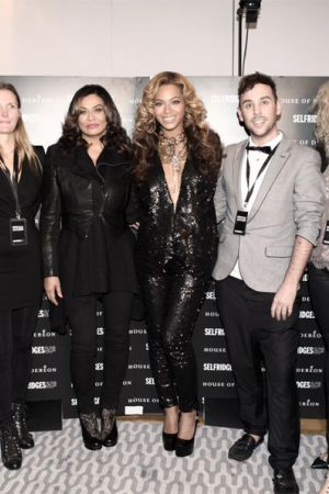 Beyonce at House of Deréon launch at Selfridges in London