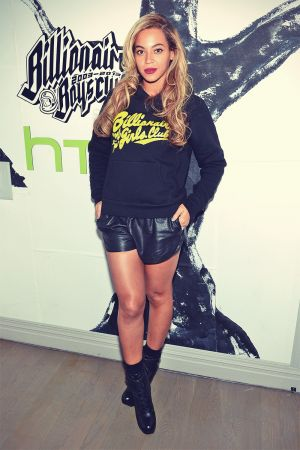 Beyonce at the 10th anniversary party of Billionaire Boys Club