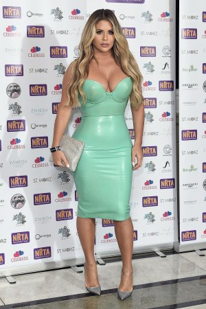 Bianca Gascoigne attends National Reality TV Awards