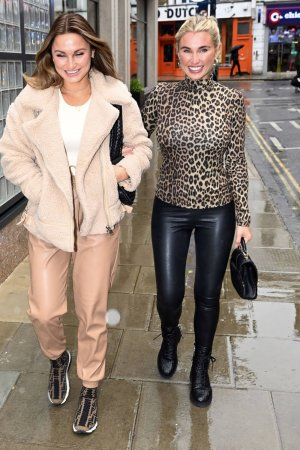 Billie Faiers at Hoxton Hotel