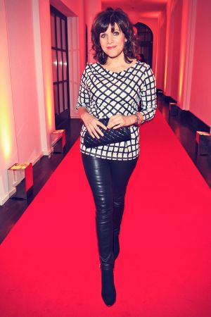 Birgit Schrowange attends the Bunte & BMW Festival Night