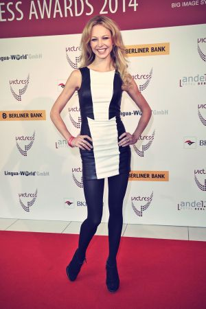 Birte Glang attends the 9th Victress Awards Gala
