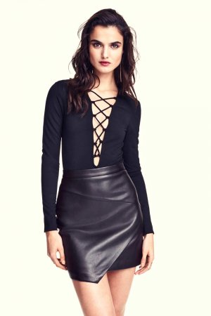 Blanca Padilla photoshoot for H&M Collection