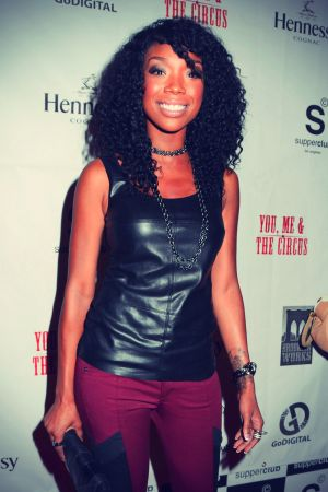 Brandy Norwood at Premiere of You, Me & The Circus