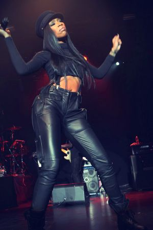 Brandy Performs At Best Buy Theater