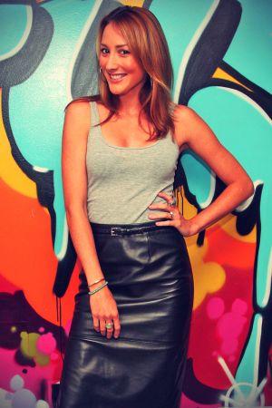 Bree Turner Visits Fuse's No 1 Countdown