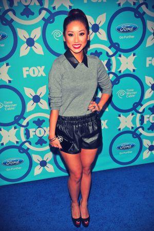 Brenda Song attends 2013 Fox Fall Eco-Casino Party