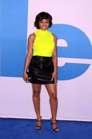Bresha Webb attends Little Film Premiere