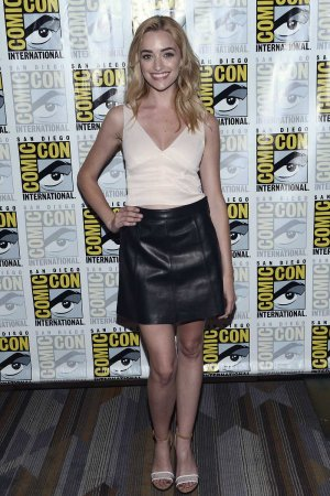 Brianne Howey attends Comic-Con