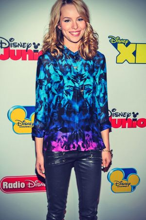 Bridgit Mendler attends the Disney Channel Kids Upfront 2013