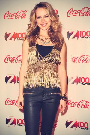 Bridgit Mendler Z100 & Coca-Cola All Access Lounge