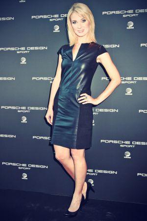 Britta Hofmann attends Porsche Design Fashionshow