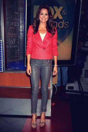Brooke Burke drops by 'Fox & Friends' at the Fox Studios