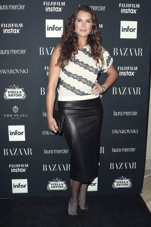 Brooke Shields attends Harper's Bazaar ICONS party