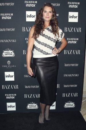 Brooke Shields attends Harper's Bazaar ICONS party